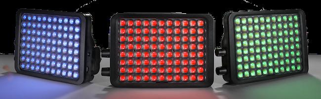 "Luxli Viola 5"" Portable Multicolor LED Light Panels"