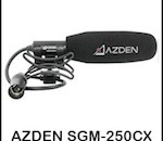 Azden SGM-250CX On Camera Short Shotgun Microphone