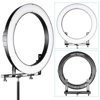 Quick Look at Falcon Eyes DVR-160TVC LED Ring Light