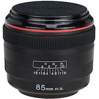 fake lens drink coaster