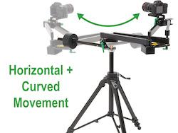 Camera Slider Jib C-Pan Arm