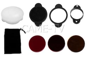 Boltzen Magnetic Snap Kit Accessory for Quick Modifiers and Colored Gels