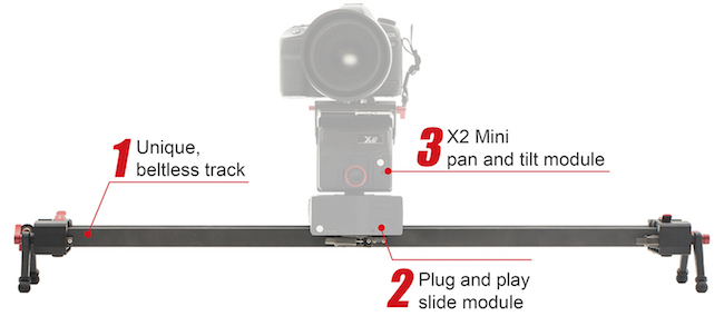 ifootage mini slider motion control