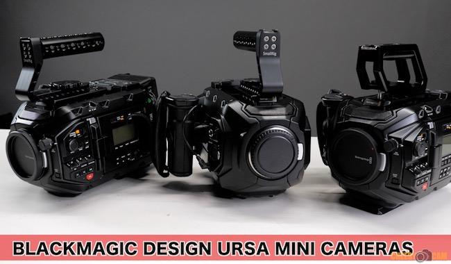 Ursa Mini Cameras