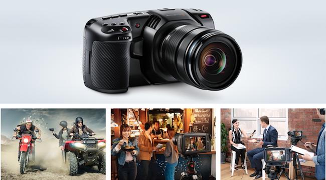 Preorder the BlackMagic Design Pocket Cinema 4K Camera