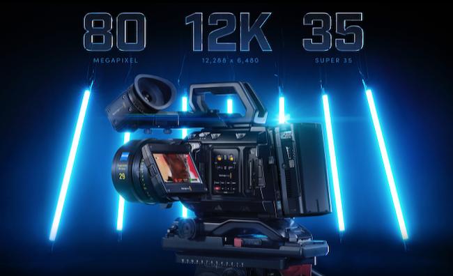 Blackmagic Design announces new 12K Ursa Mini Pro Camera