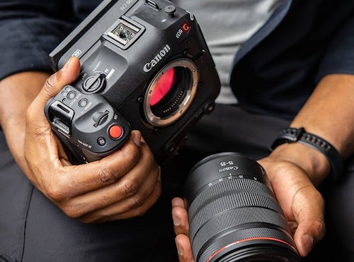 Canon EOS C70 – Pro Cinema in The Palm of Your Hand